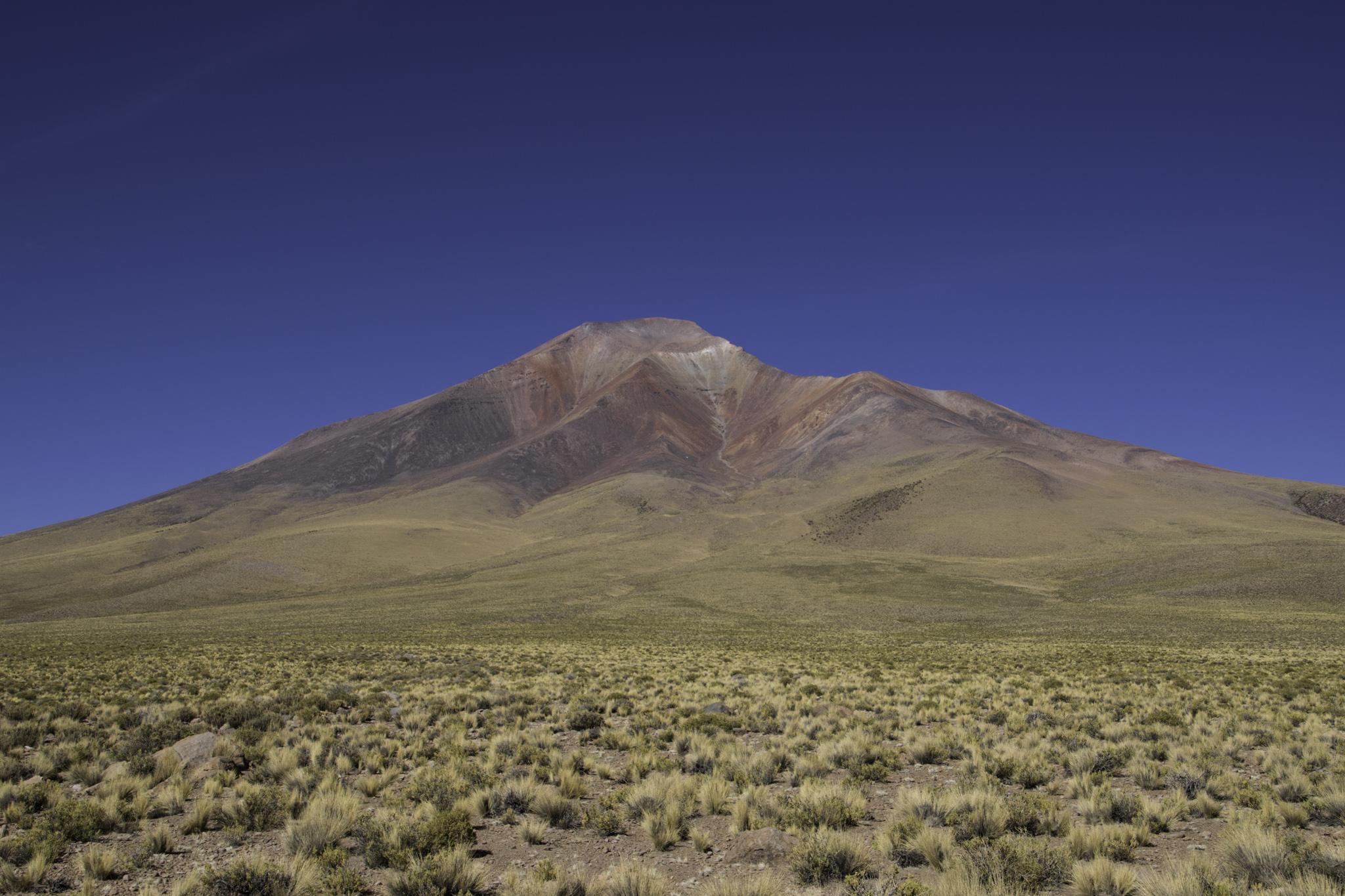 Die vielen Mineralien färben die Berge bunt