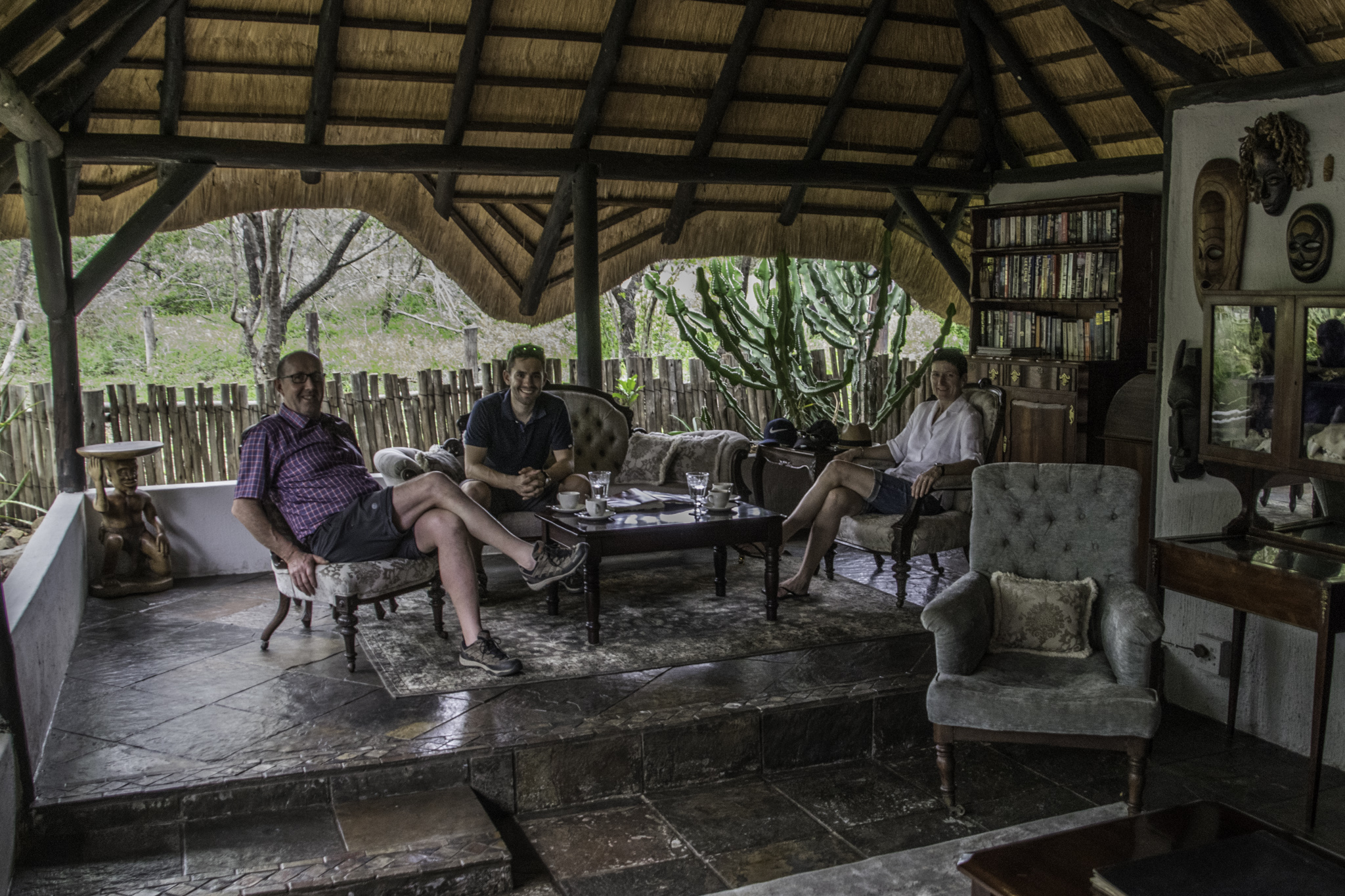 Silvester in der KwaMbili-Lodge mit Miriams Eltern