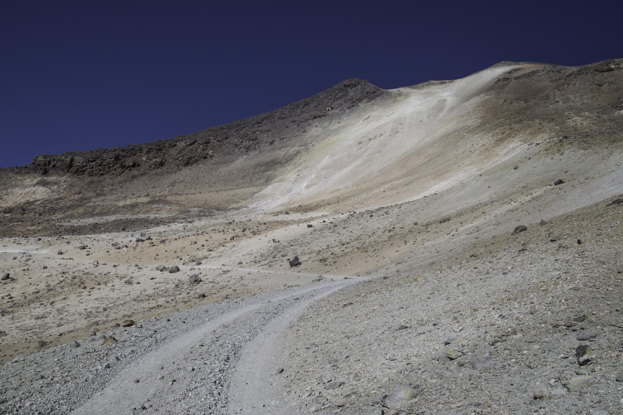Auf dem Weg zum Gipfel des Uturuncu