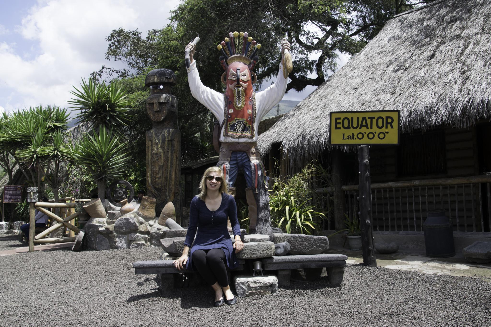 Das Intiñan-Museum am Äquator