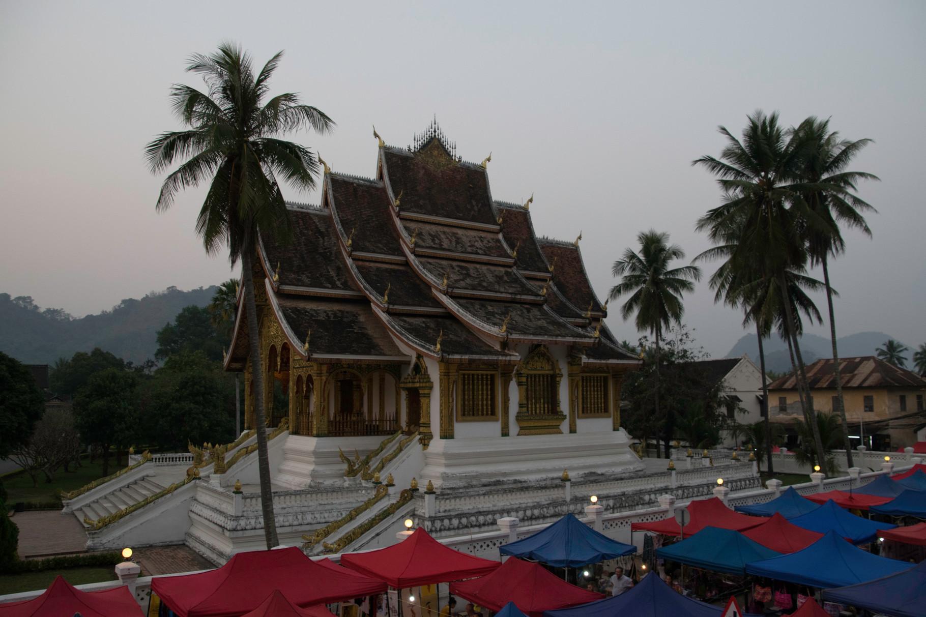 Einer der vielen Tempel in Luang Prabang
