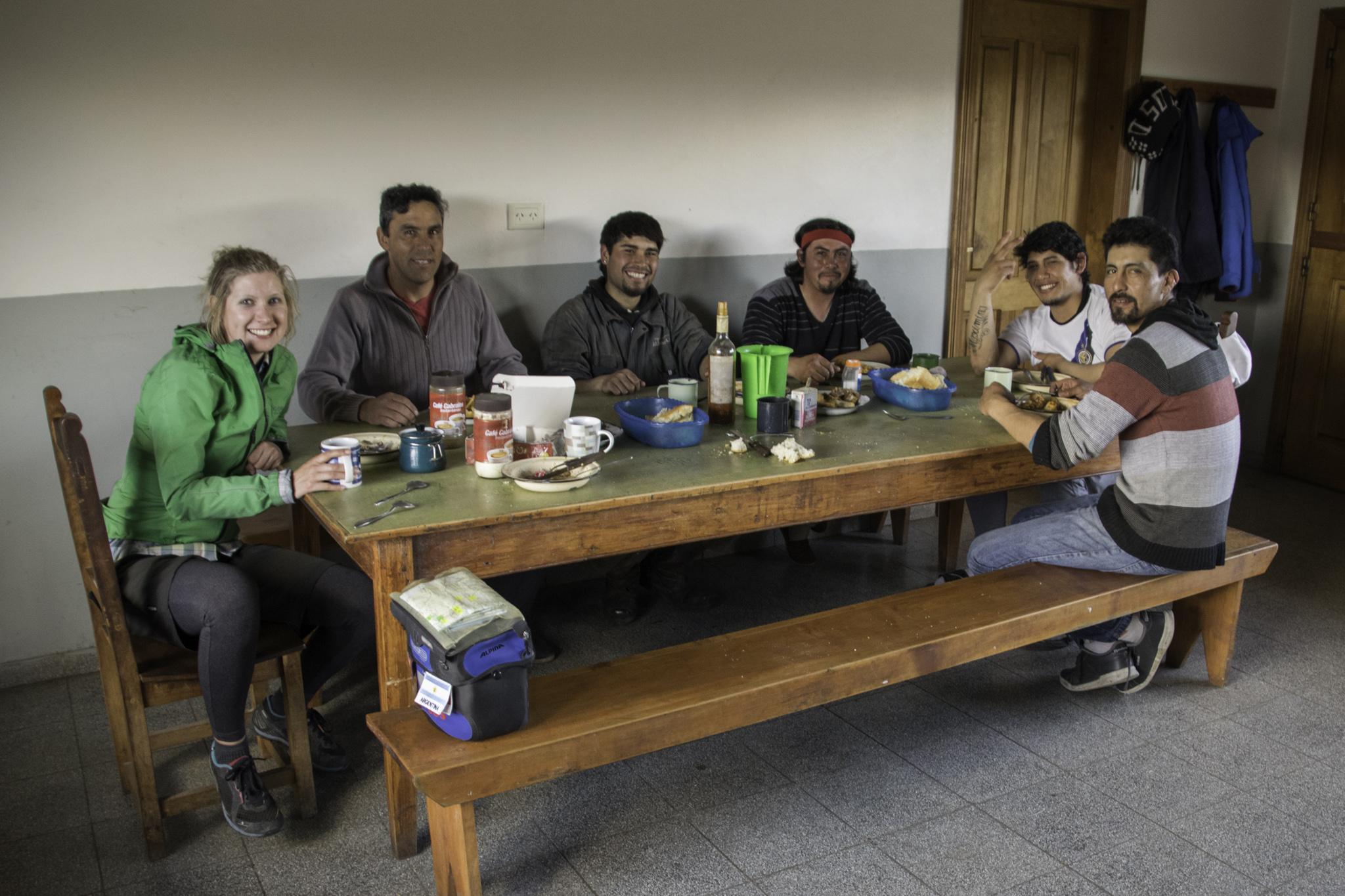 Abendessen mit den Gauchos auf der Estancia