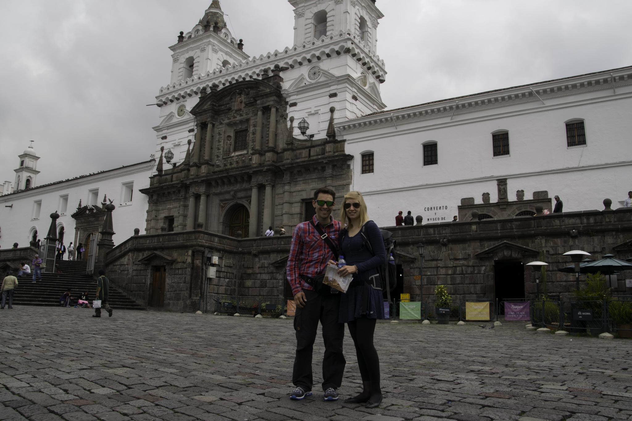 In der Altstadt Quitos