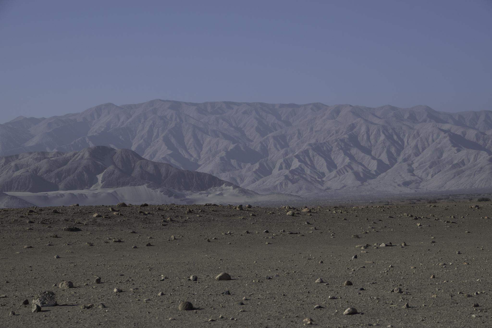 Mondlandschaft vor Nazca