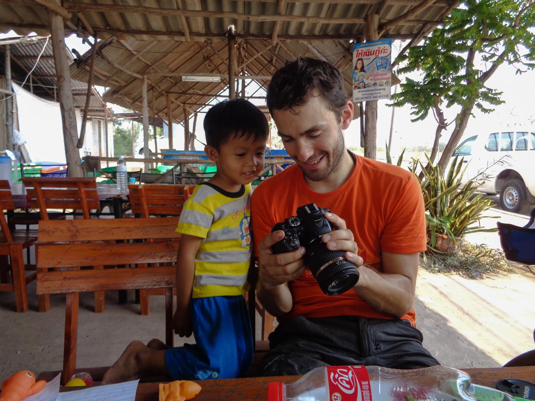 Michis kleiner thailändischer Freund