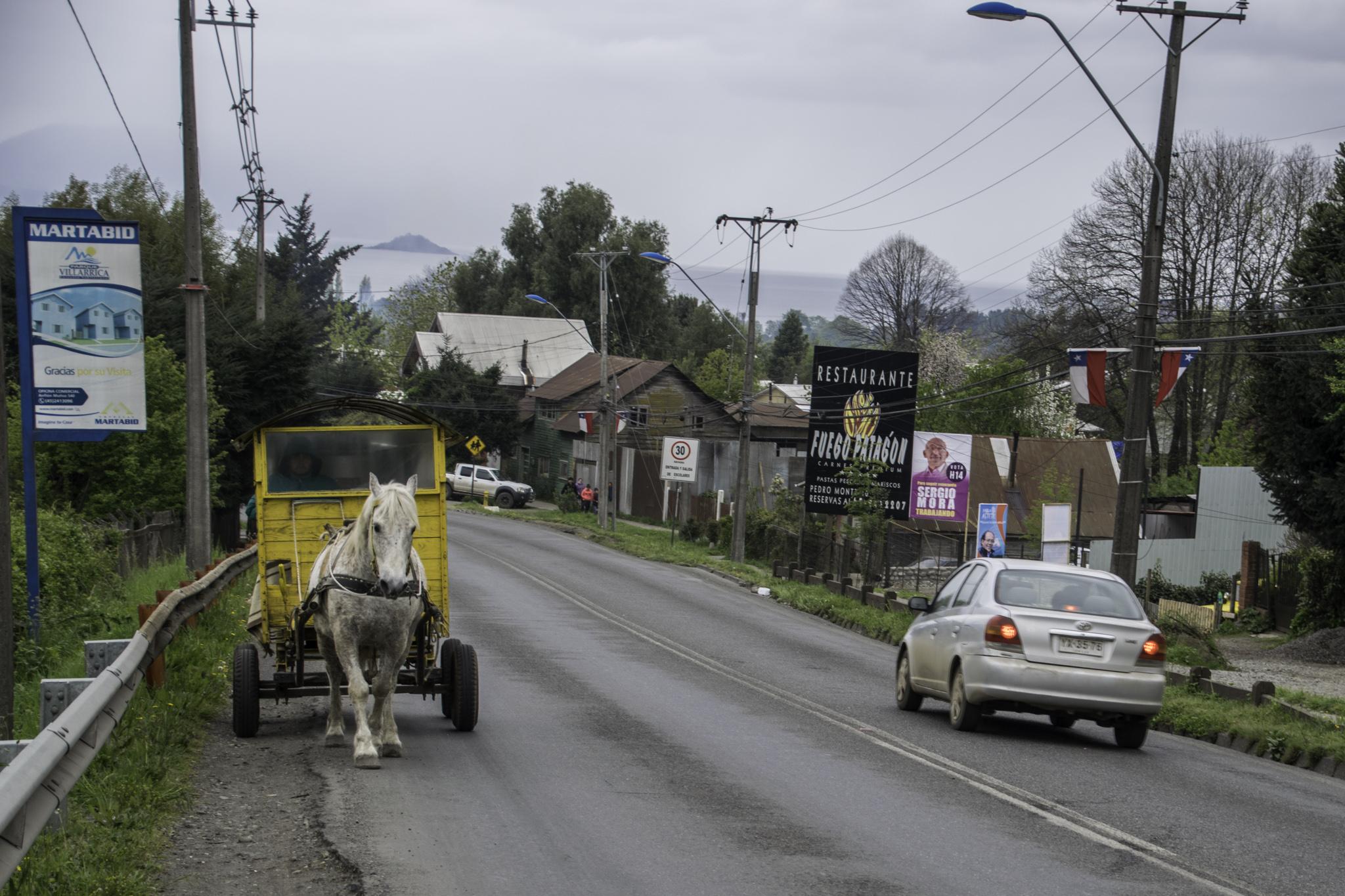 Chile ist zwar sehr entwickelt, ...