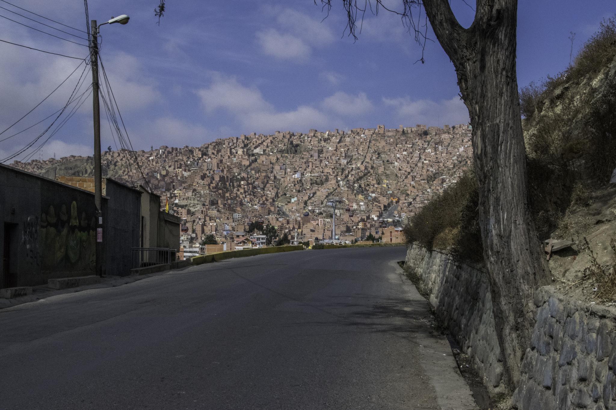 Ausfahrt aus La Paz