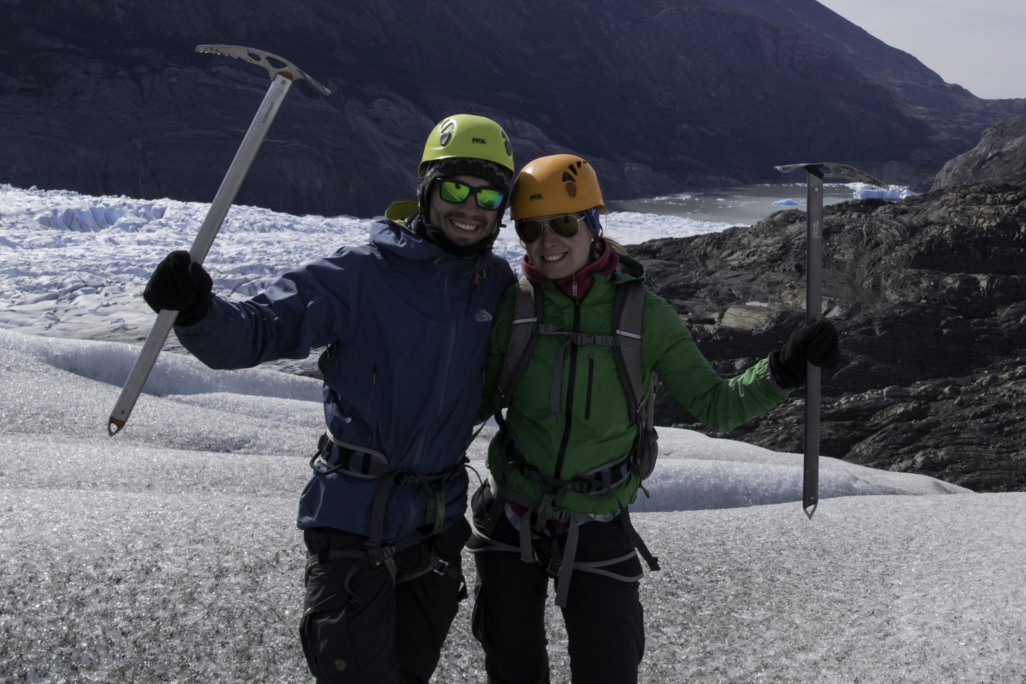 In voller Gletschermontur