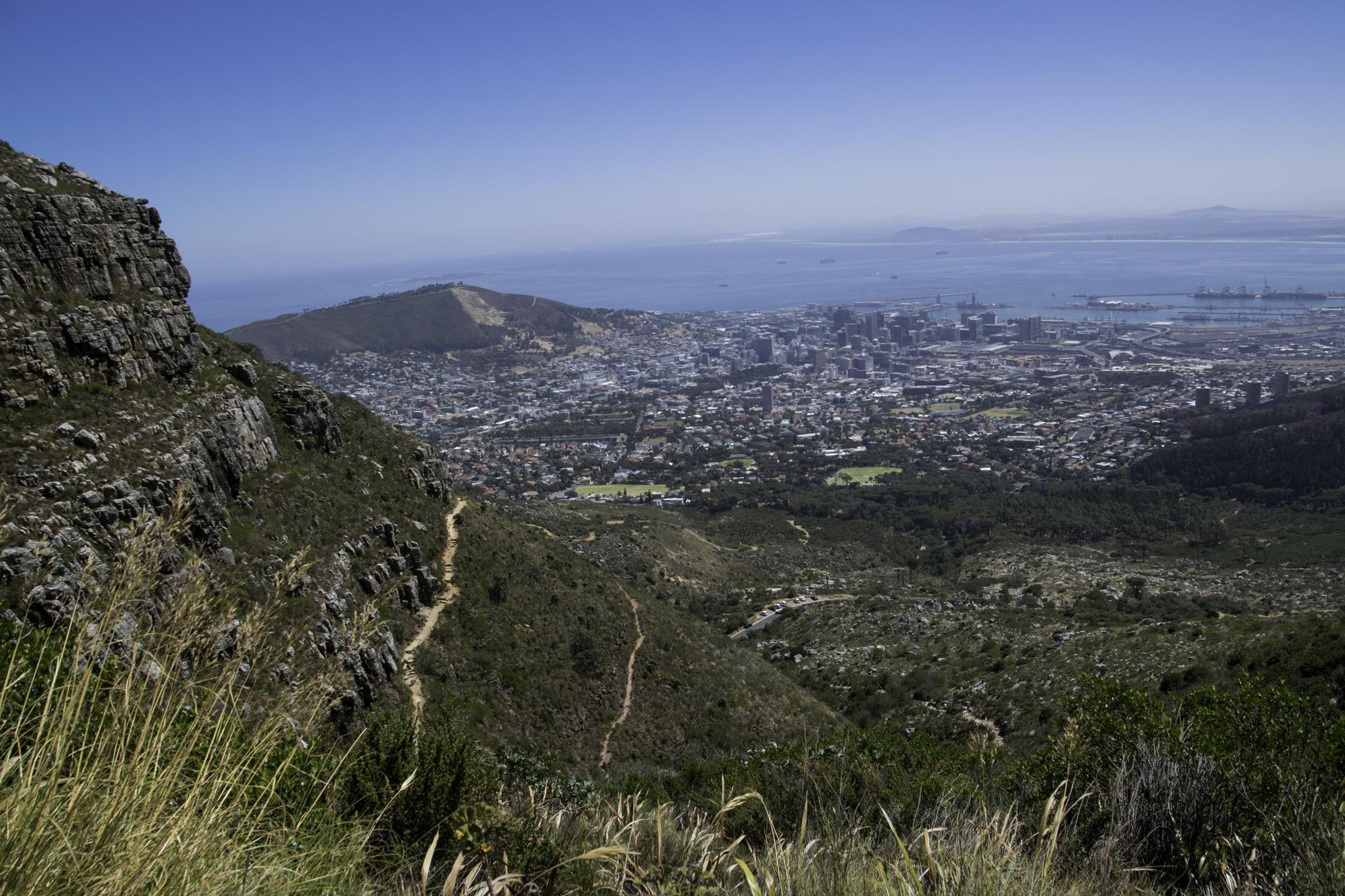 Aufstieg zum Tafelberg