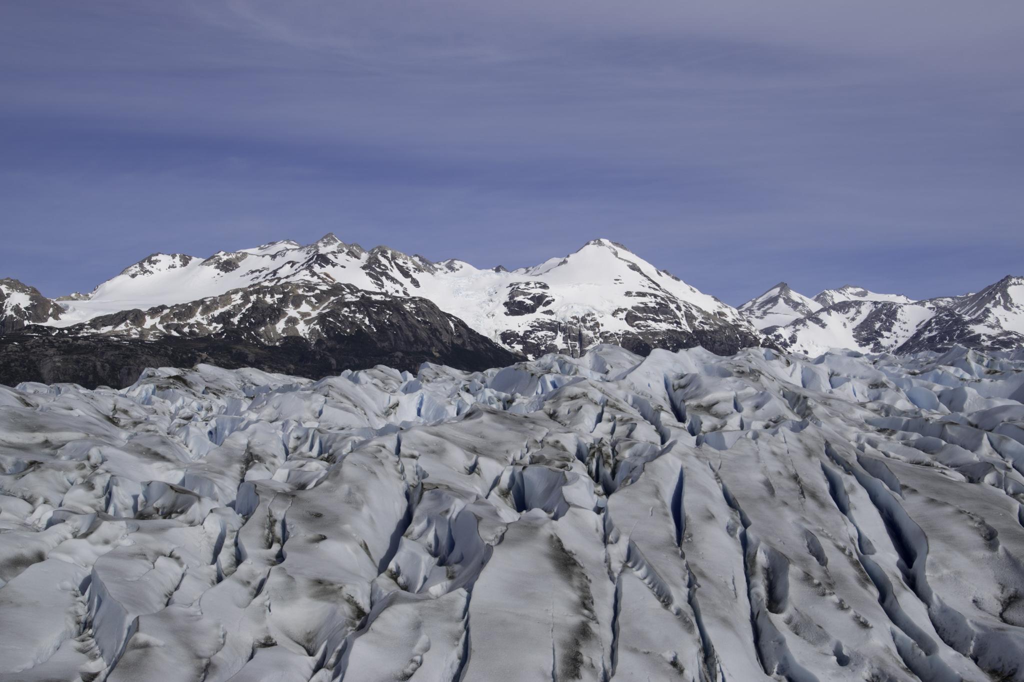 Auch an dem Tag hatten wir Wetterglück, wirklich unüblich für Patagonien