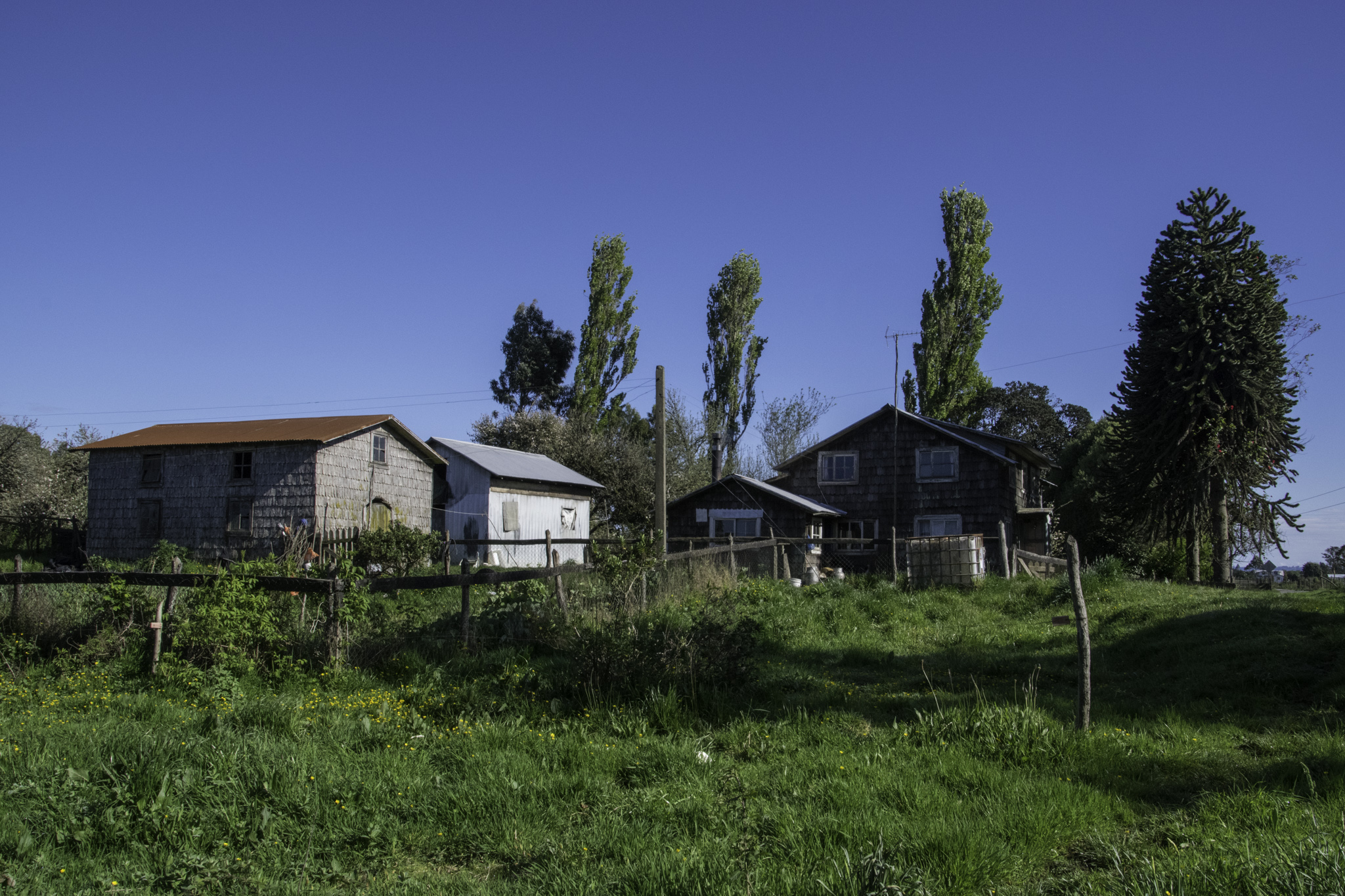Holzhäuser auf Chiloé