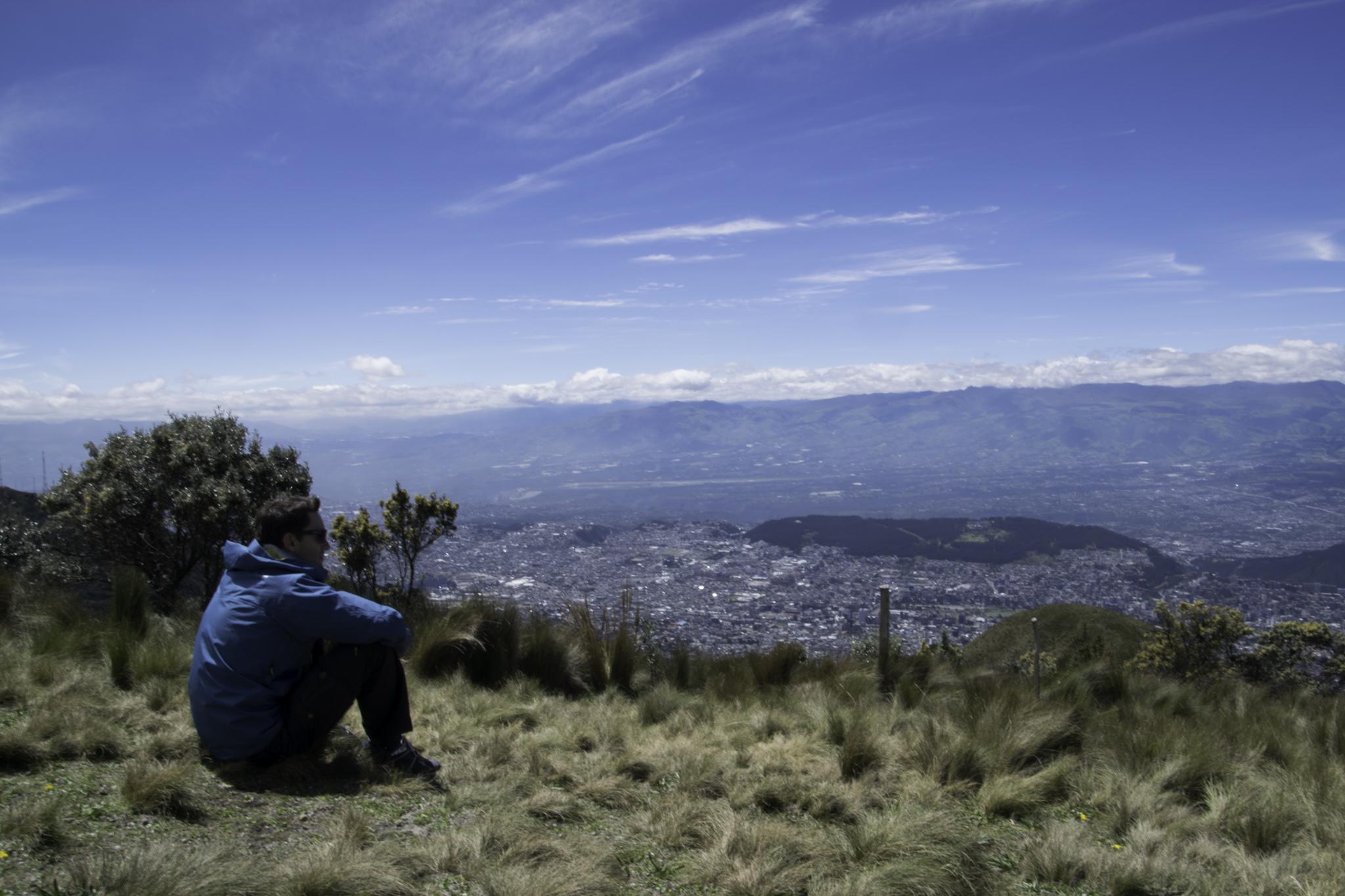 Mit dem Teleferico auf den Pichincha, der Hausberg Quitos