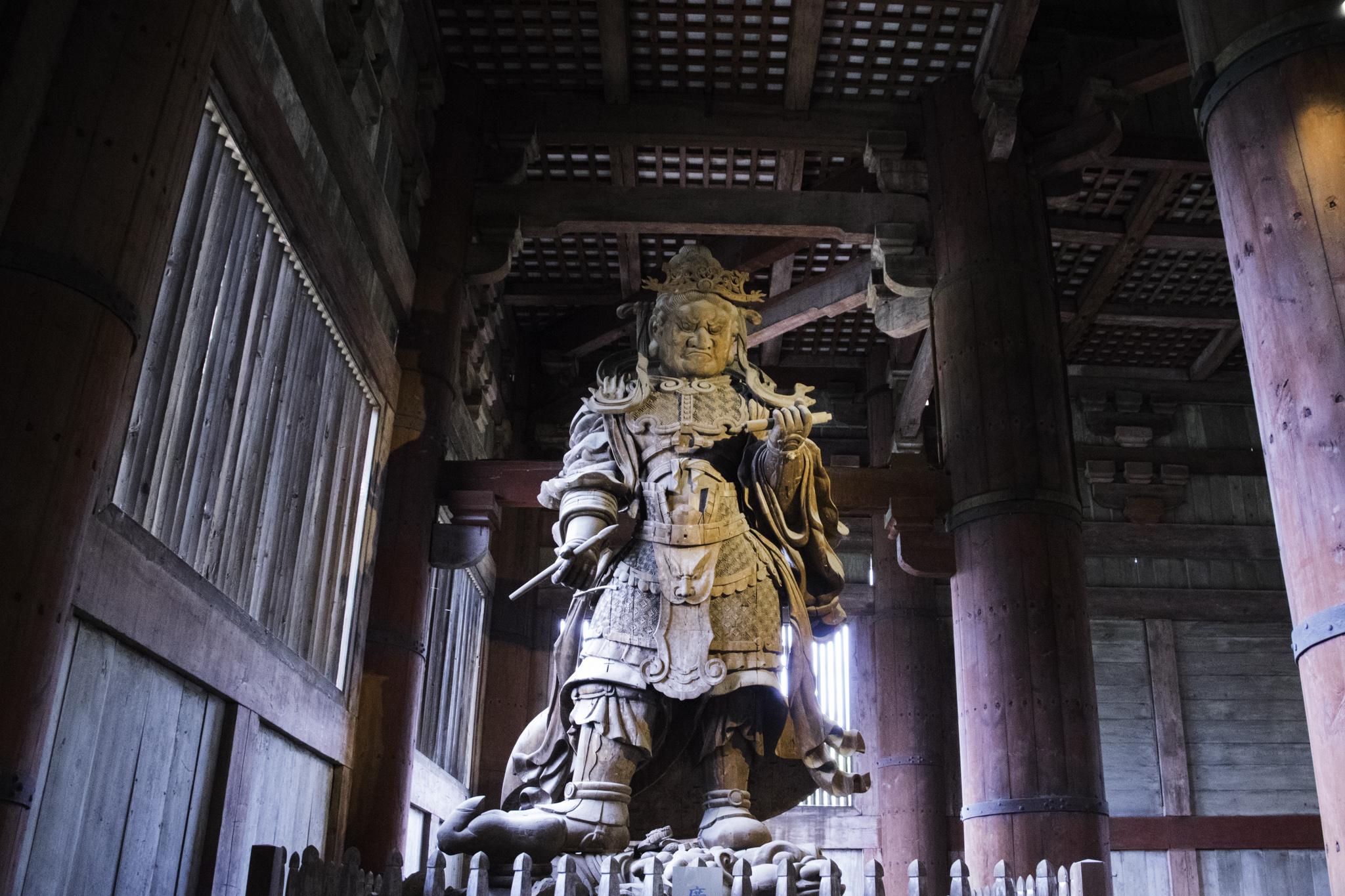 """Im """"Tōdai-ji""""-Tempel"""