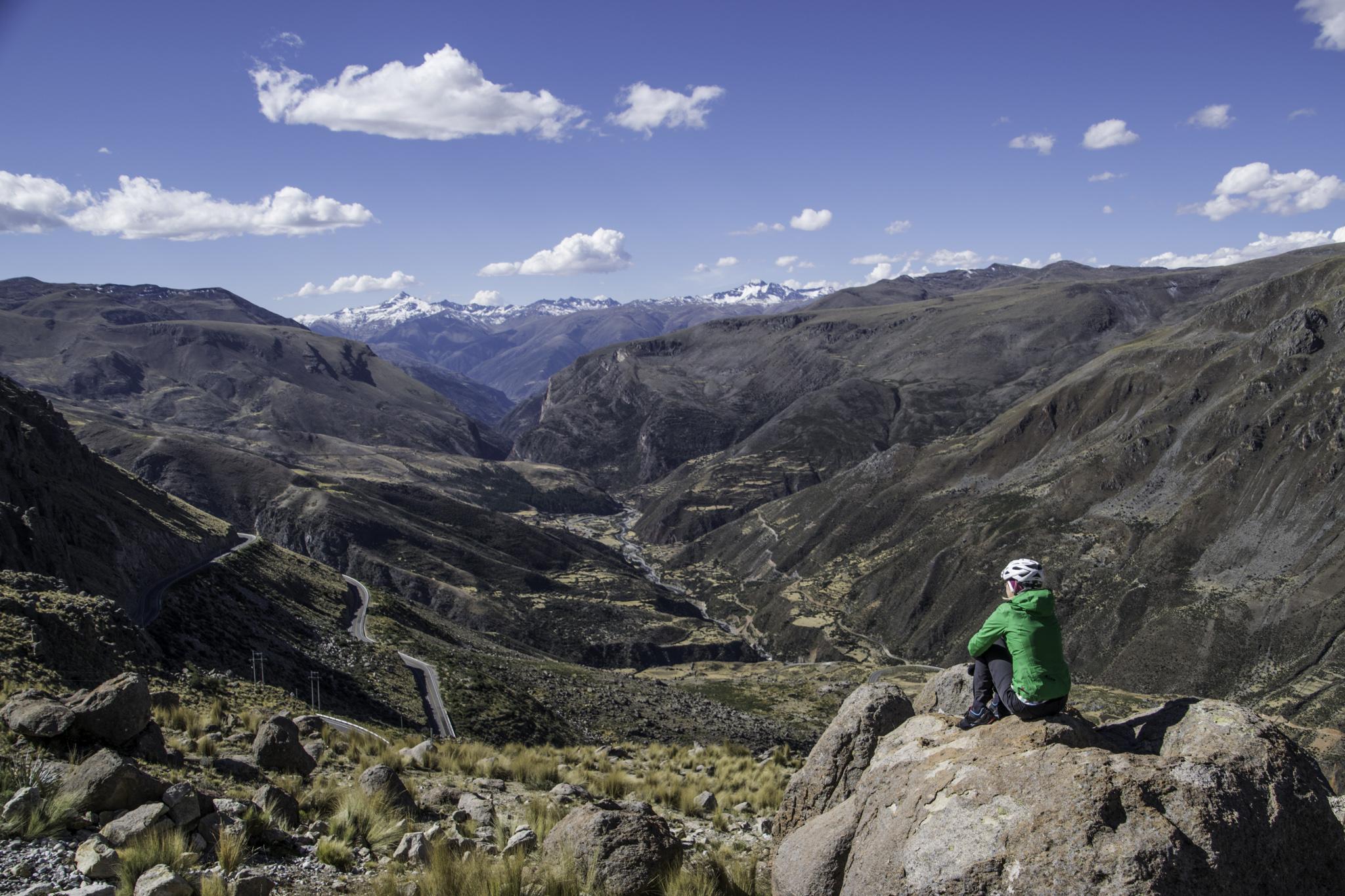 "Blick in das Tal des ""Rio Pachachaca Abancay"""