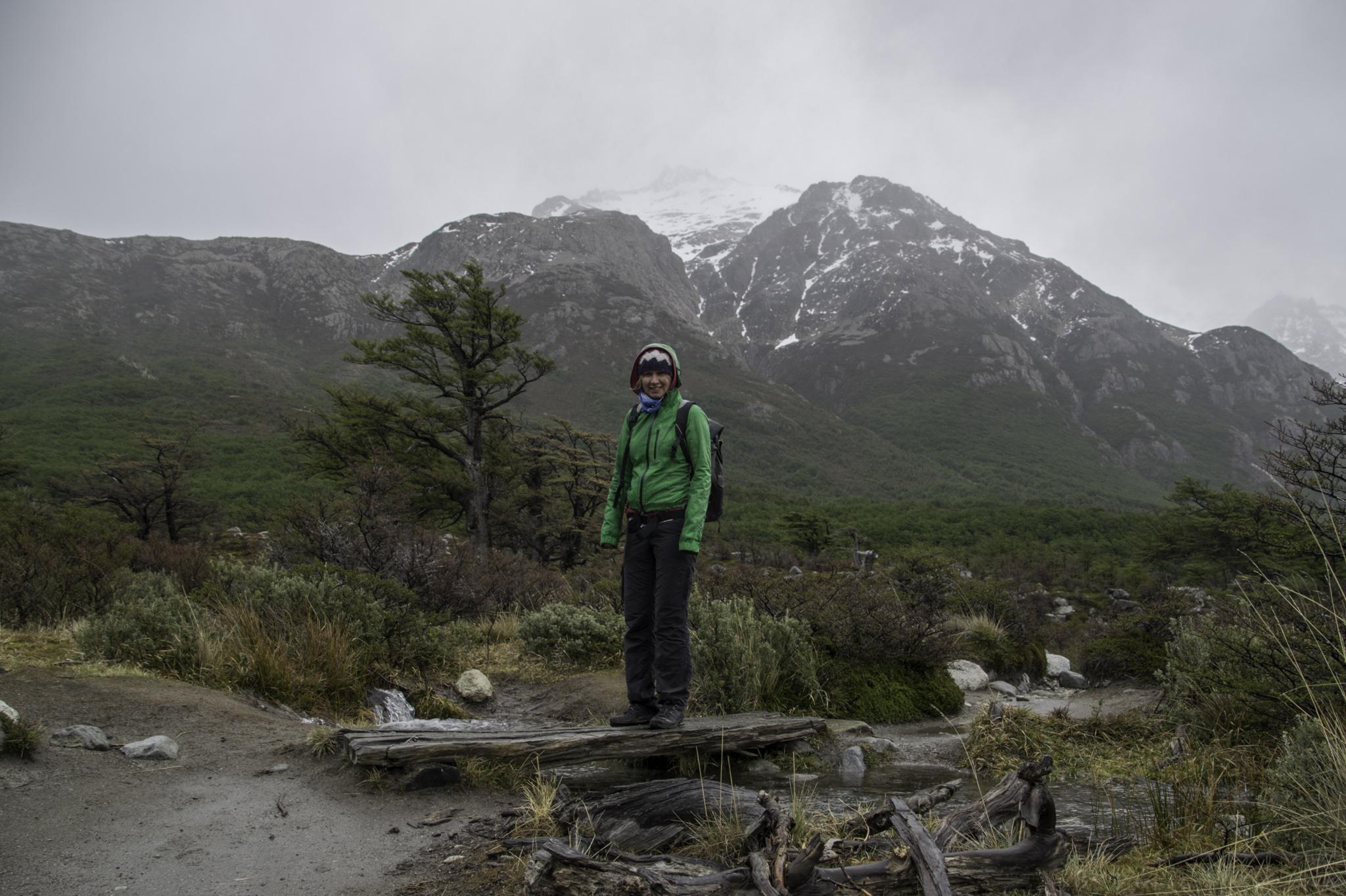 Verregnete, verschneite und verwindete Wanderung zum Fitz Roy