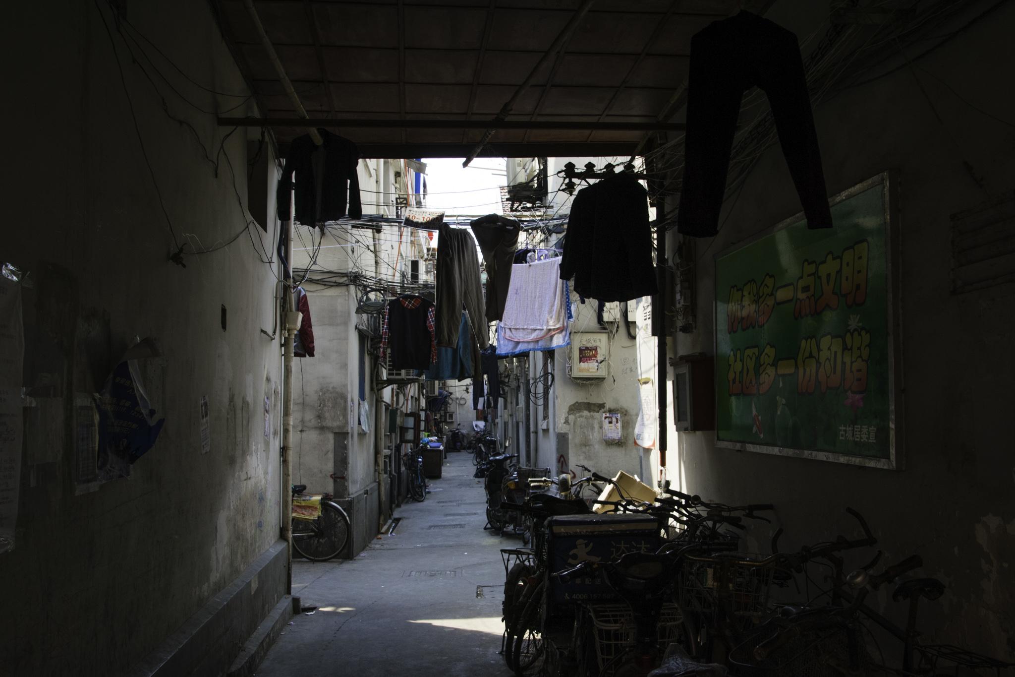 Das Tor in eine andere Welt mitten in Shanghai