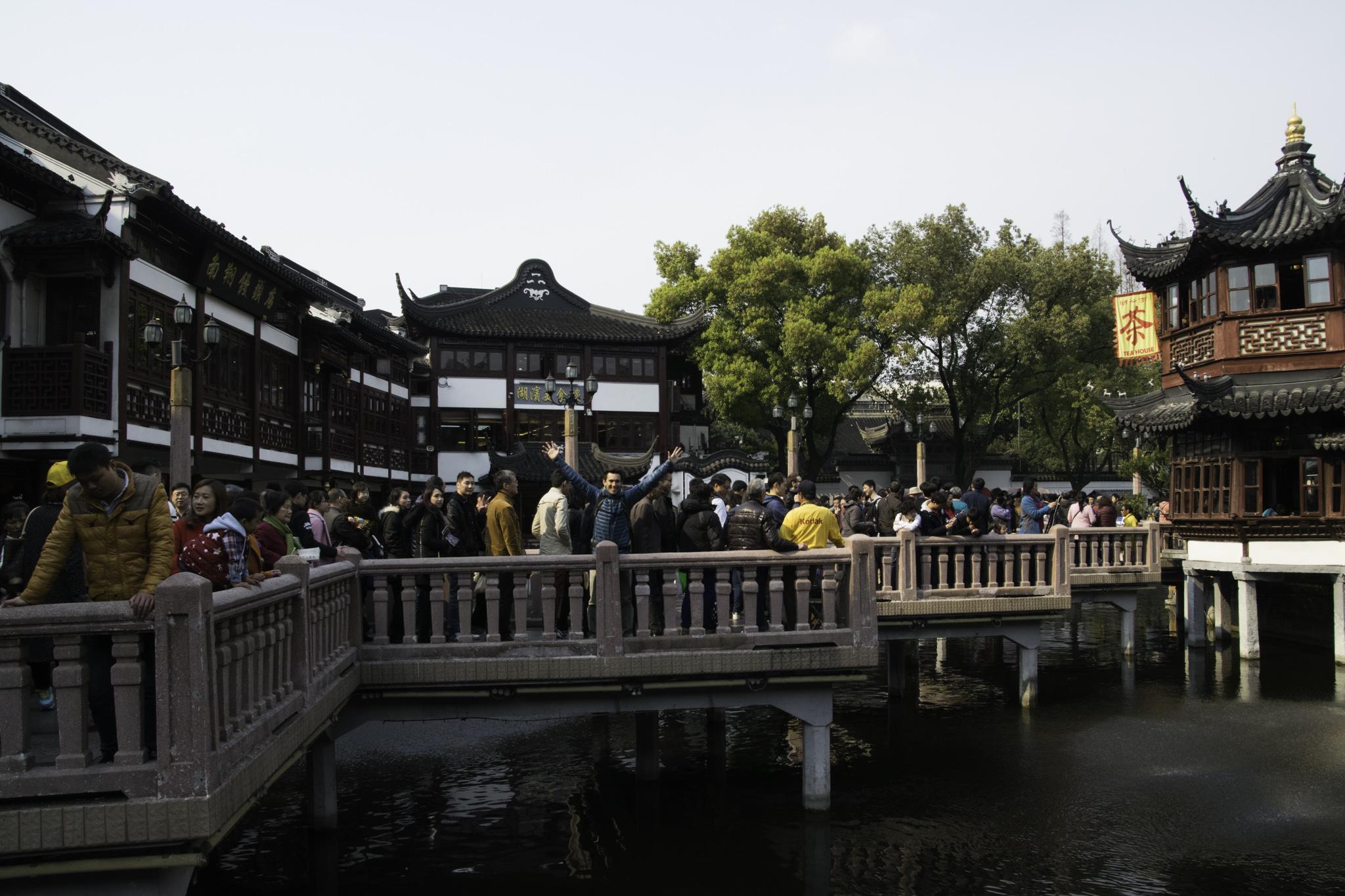 Yu Yuan in der Altstadt Shanghais