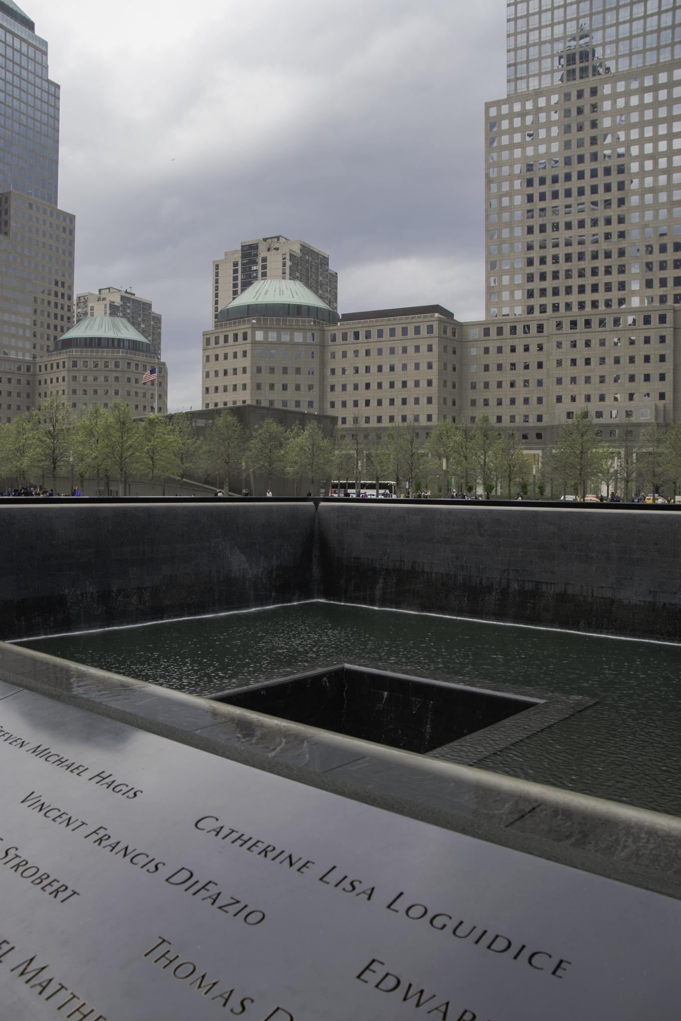 9/11-Memorial am Ground Zero