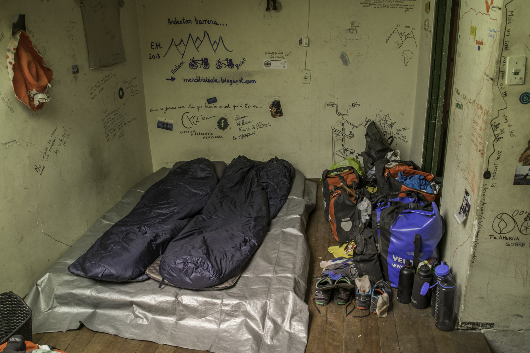 Unser Schlafplatz im CdC