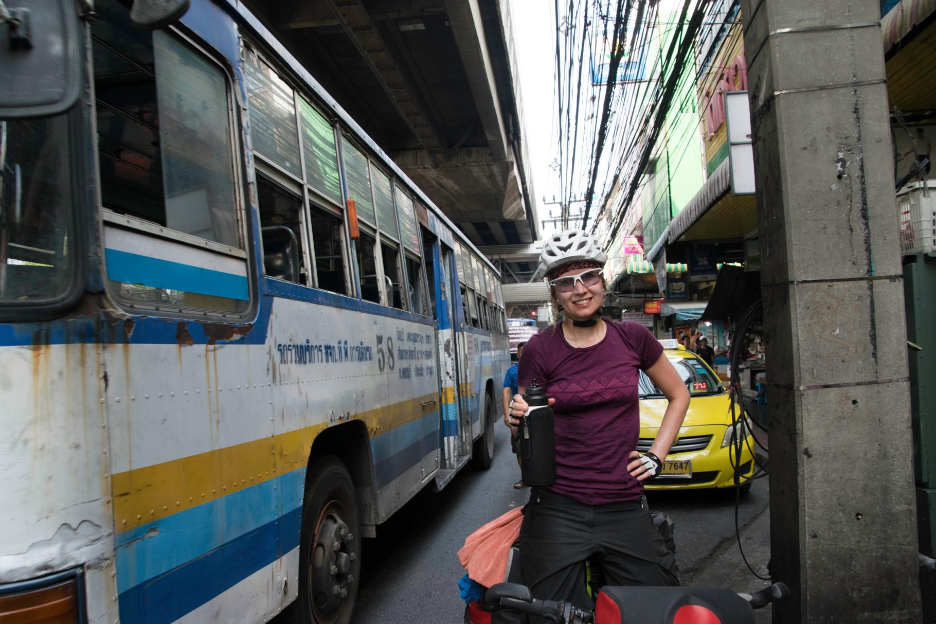 Stadtverkehr in Bangkok