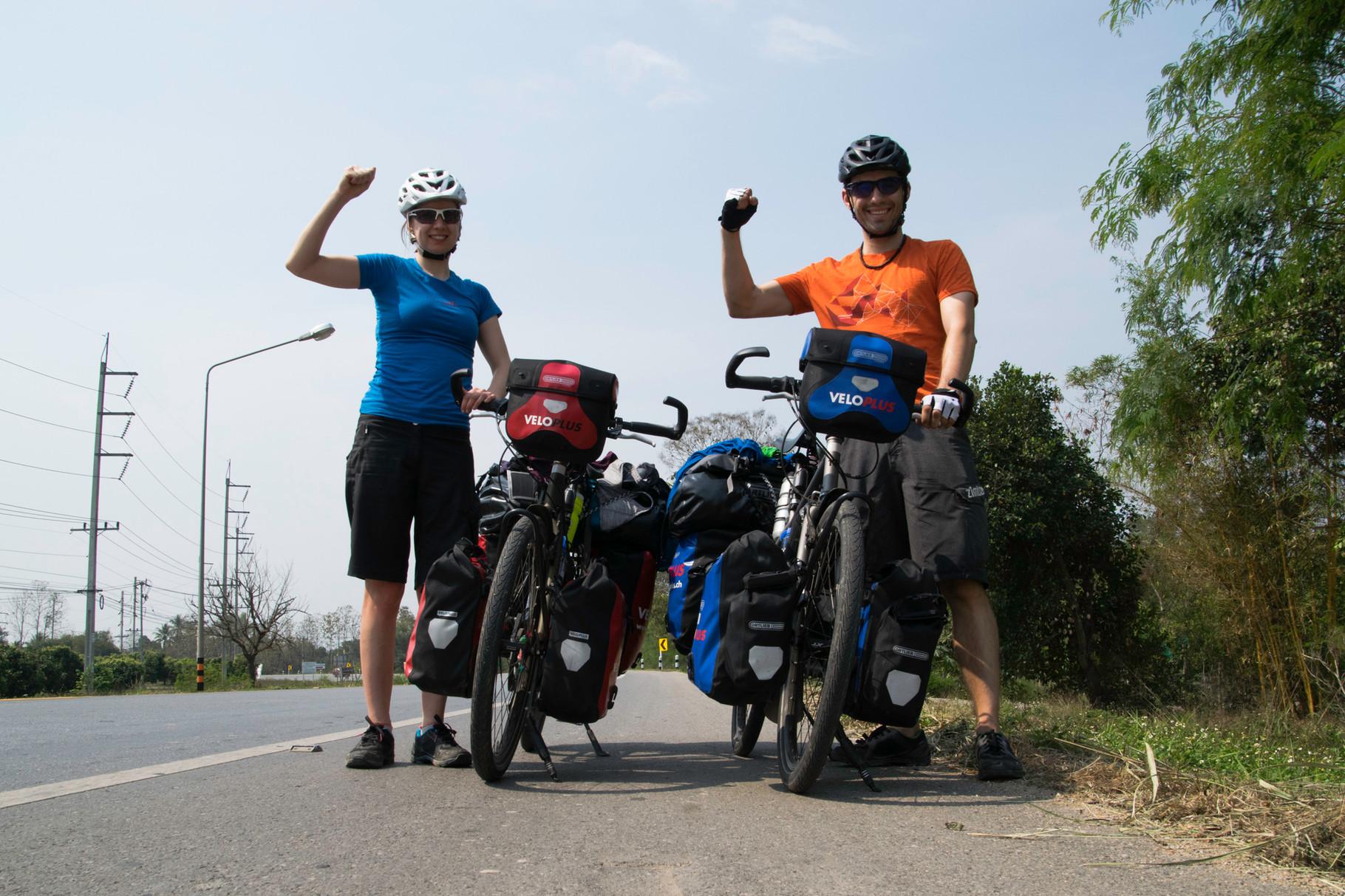 Die ersten 1000 km sind geschafft :-)