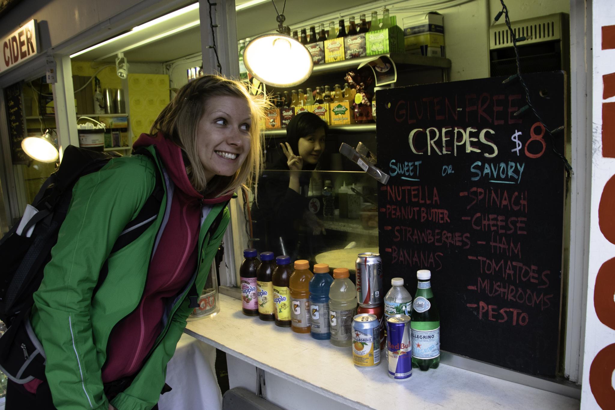 Glutenfreie Crèpes für Miriam