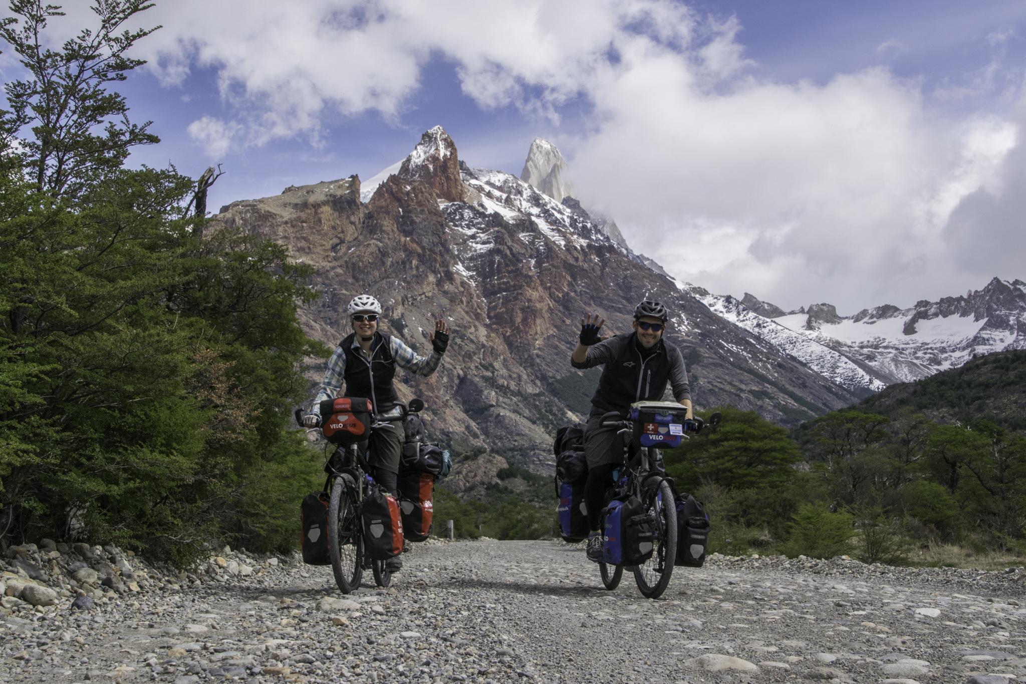 Letzte Kilometer vor El Chaltén