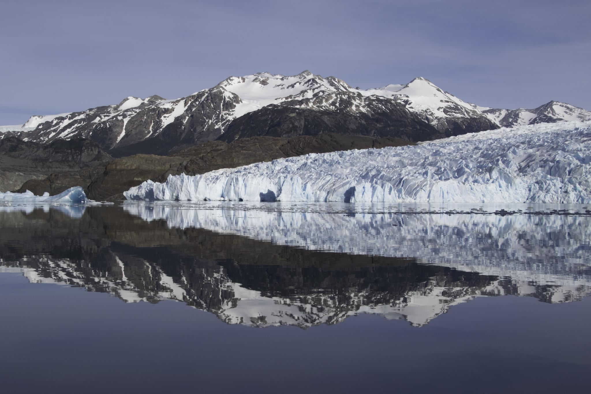 Bootsfahrt am Anfang der Gletscherwanderung