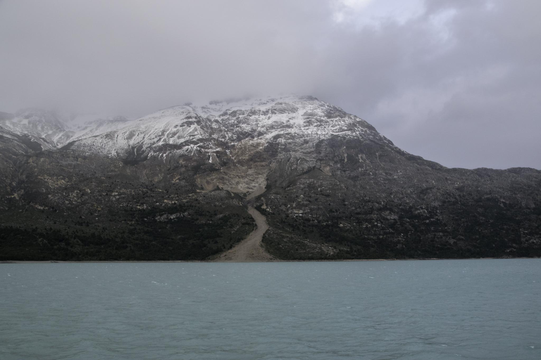 Aussicht von der Fähre auf den Lago O'Higgins