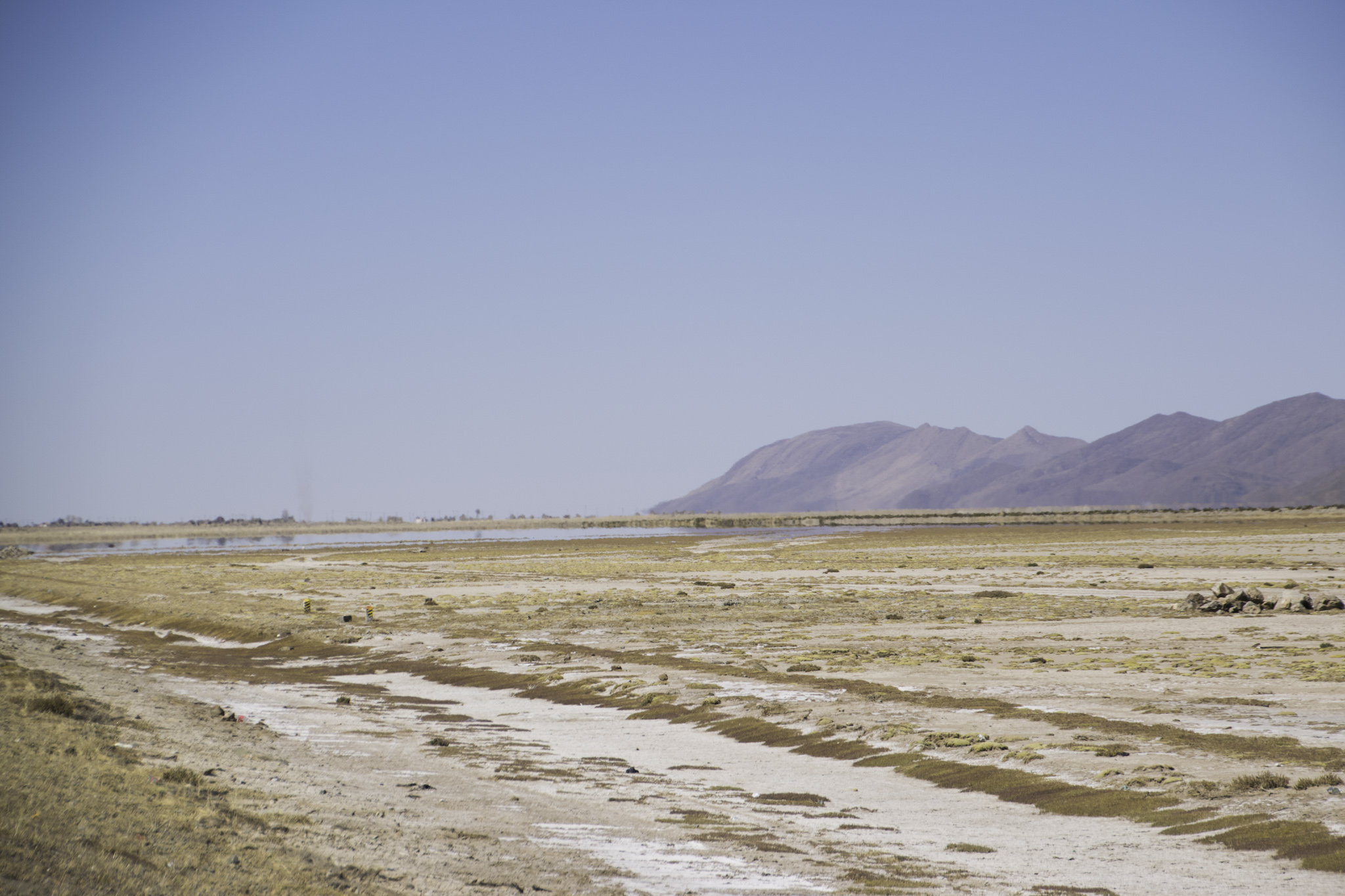 Eine der vielen Fata Morganas - Wasser war da  nirgends