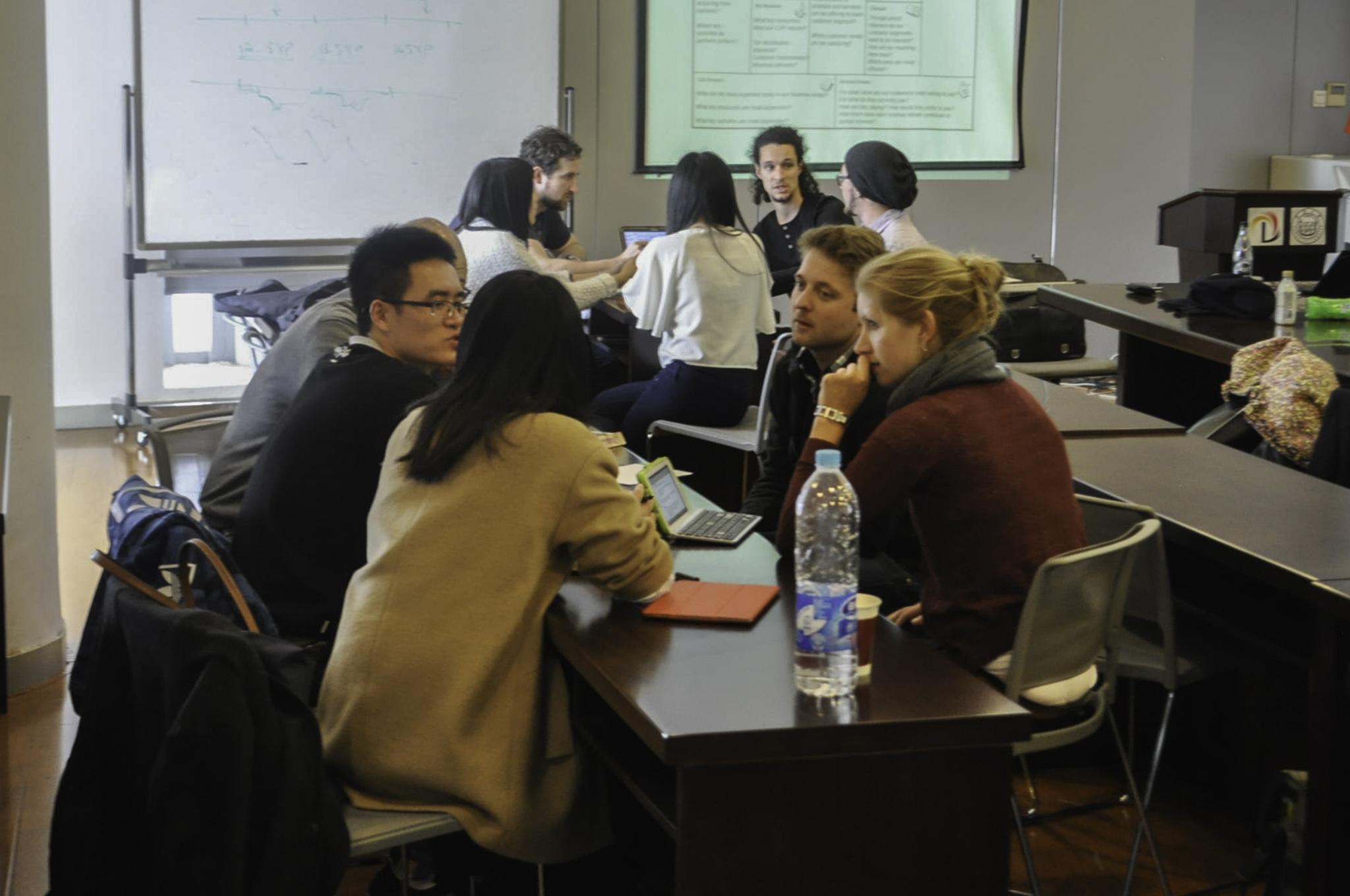 Workshop mit chinesischen Studenten