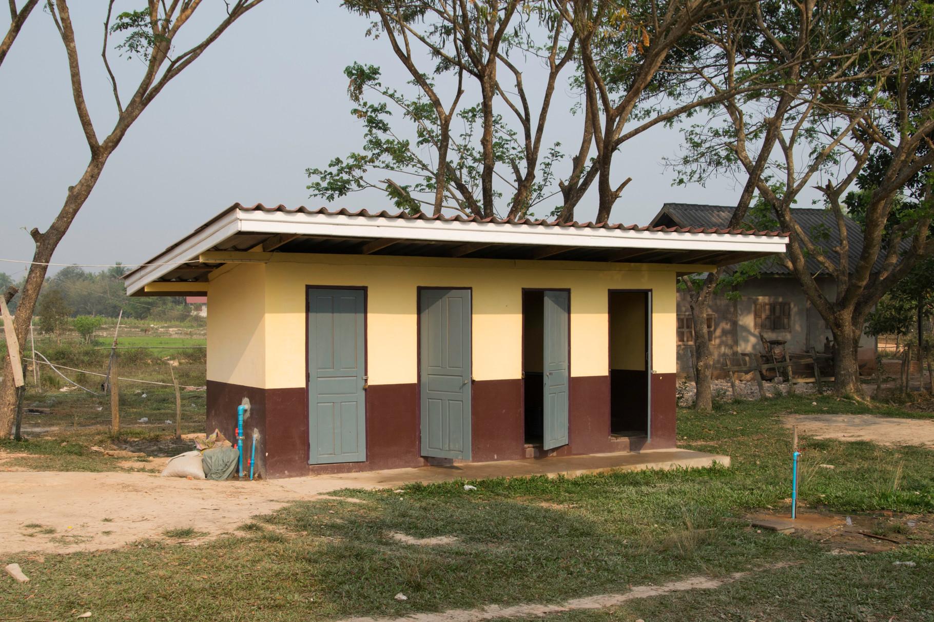 Auch gute sanitäre Einrichtungen sind nicht selbstverständlich