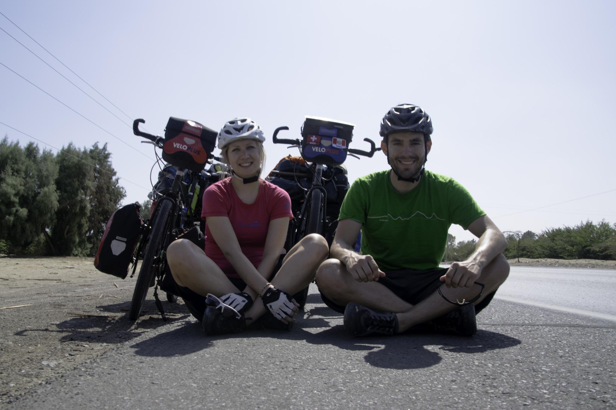 Kurze Verschnaufpause nach genau 4000 km