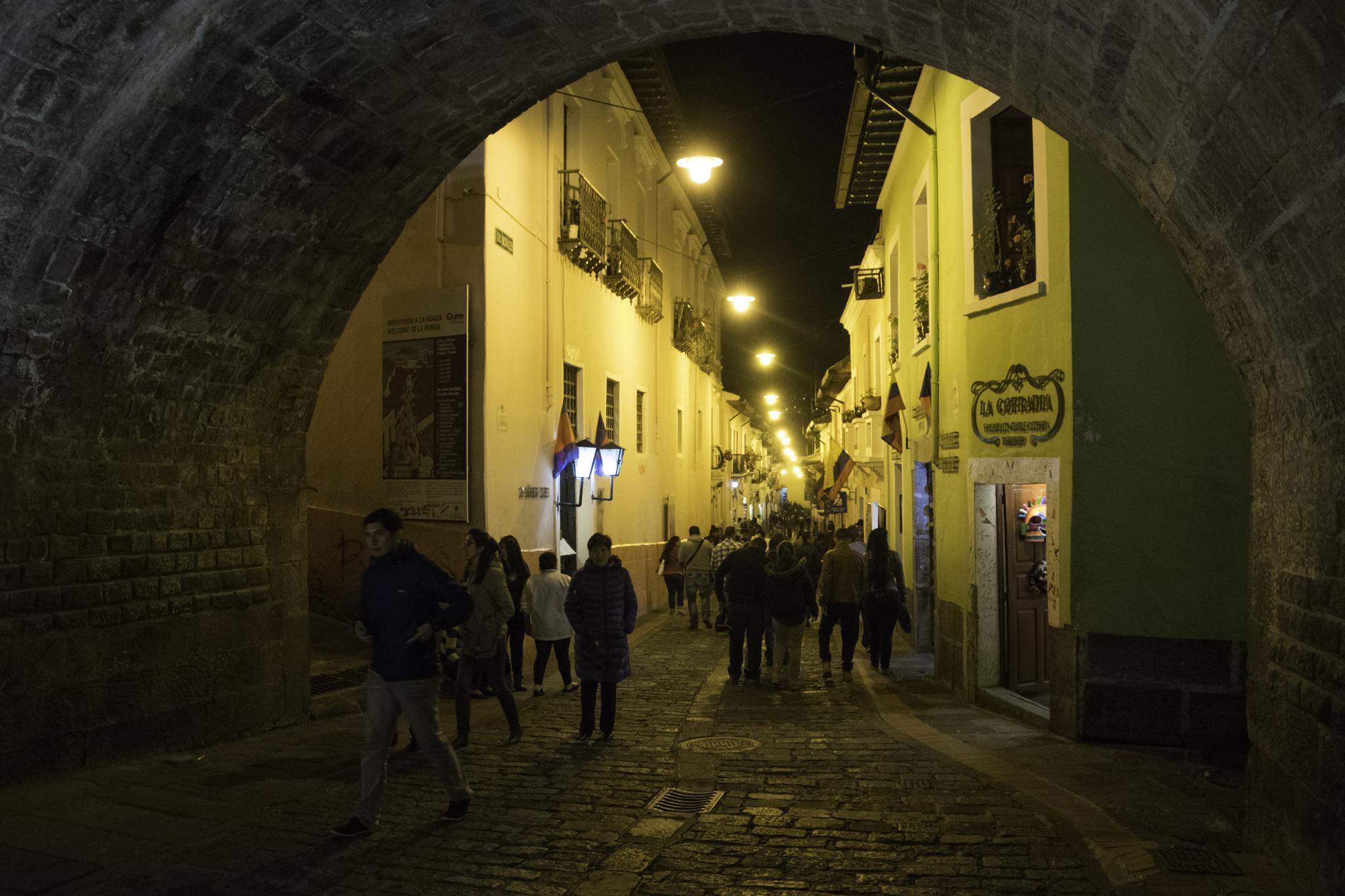 """Ausgang in der """"Calle La Ronda"""""""