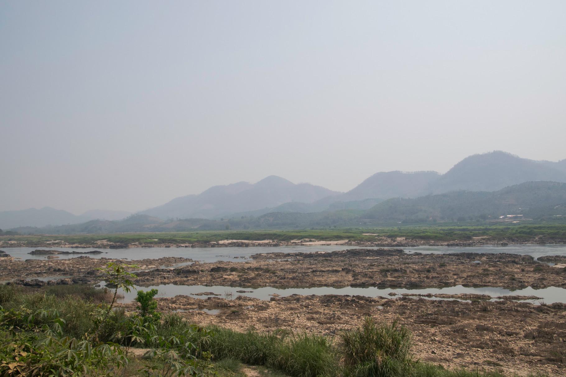 Blick über den Mekong