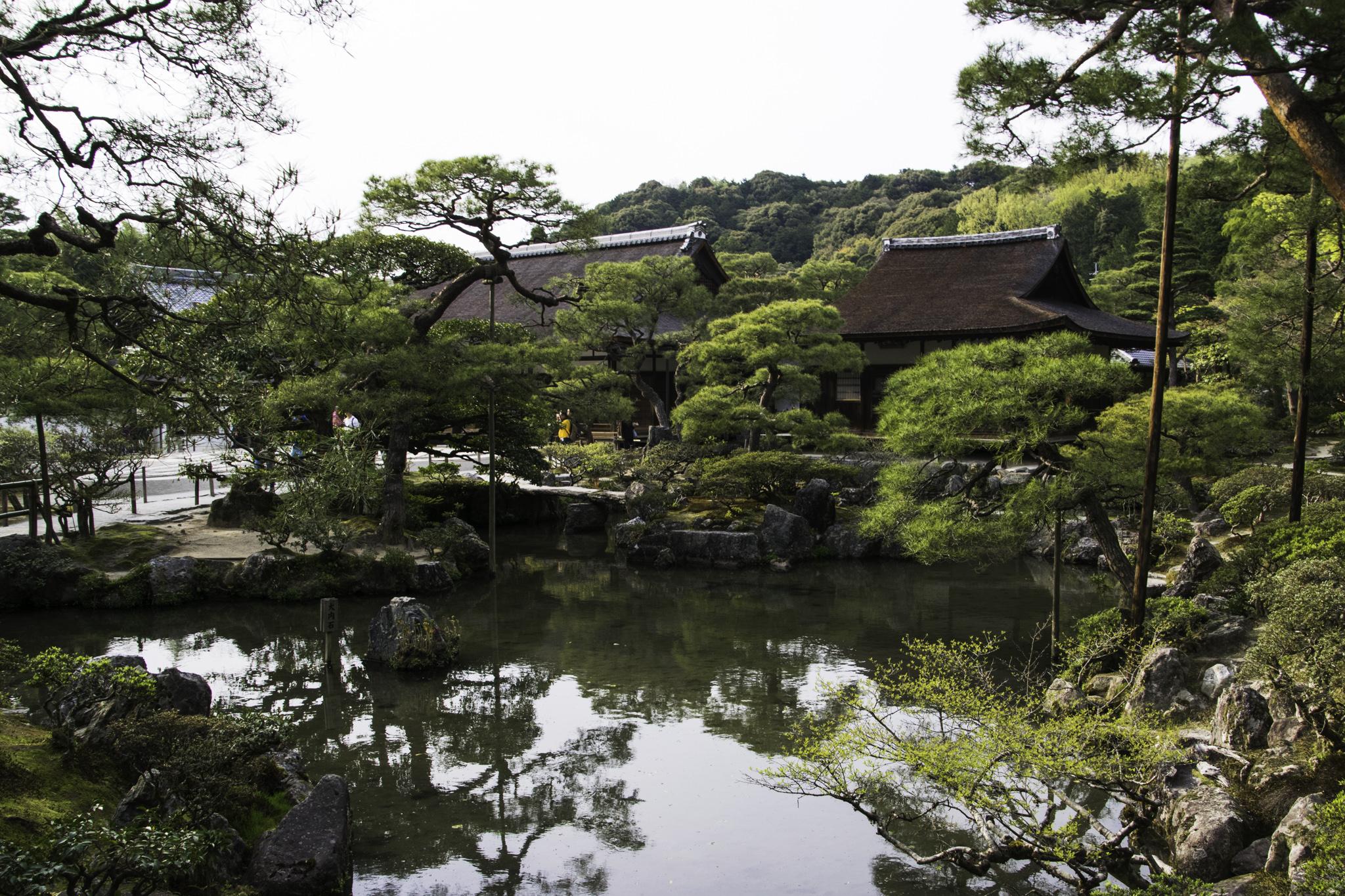 """""""Ginkaku-ji""""-Tempel"""