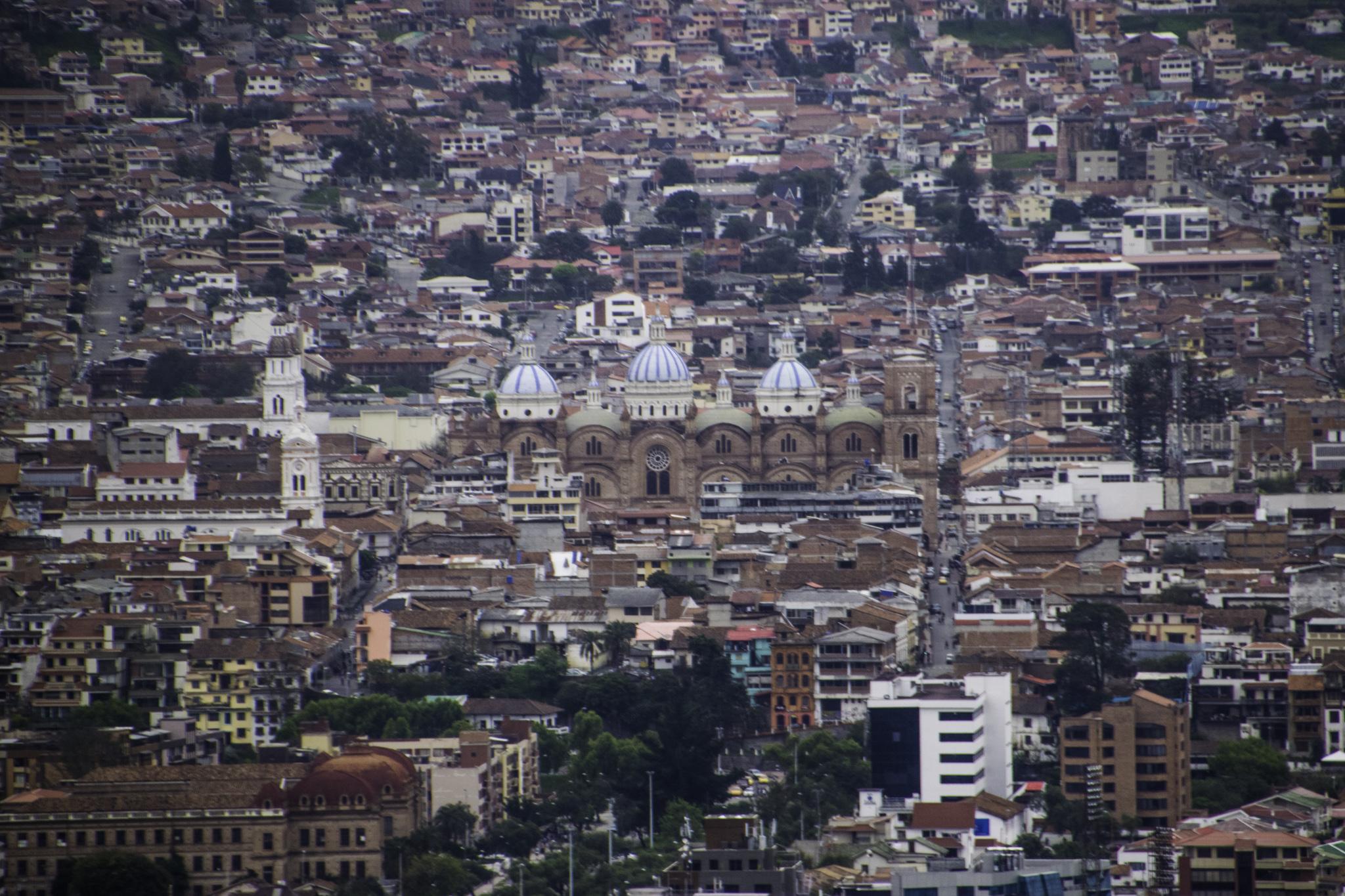 Blick über Cuenca