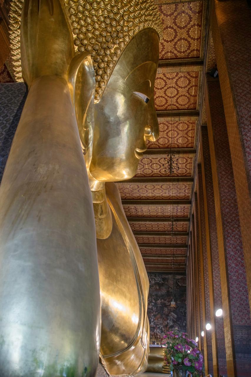 Der liegende Buddha im Wat Pho
