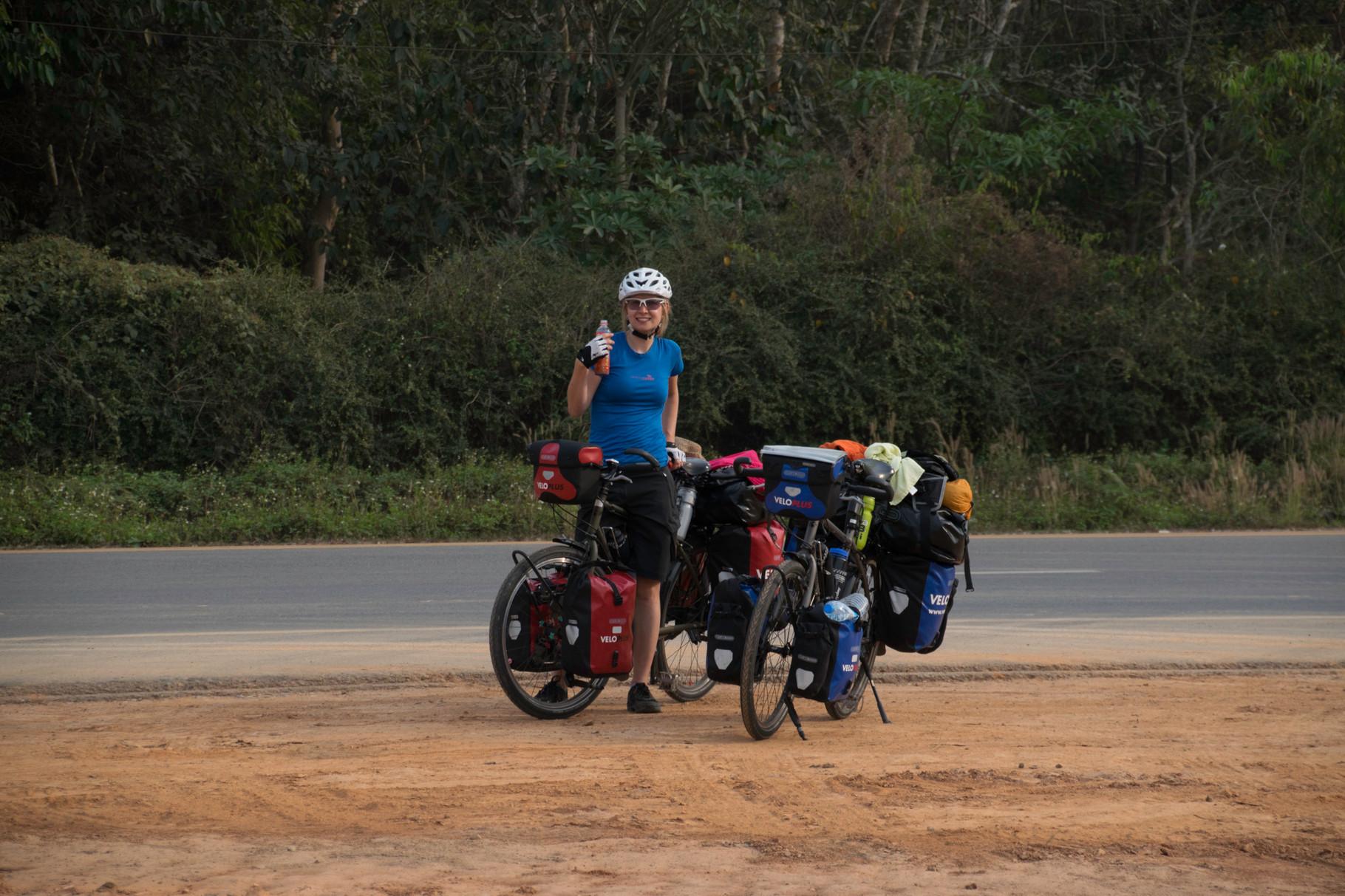 Ankunft am Mekong