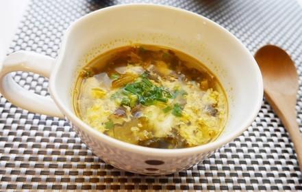 高菜の中華スープ