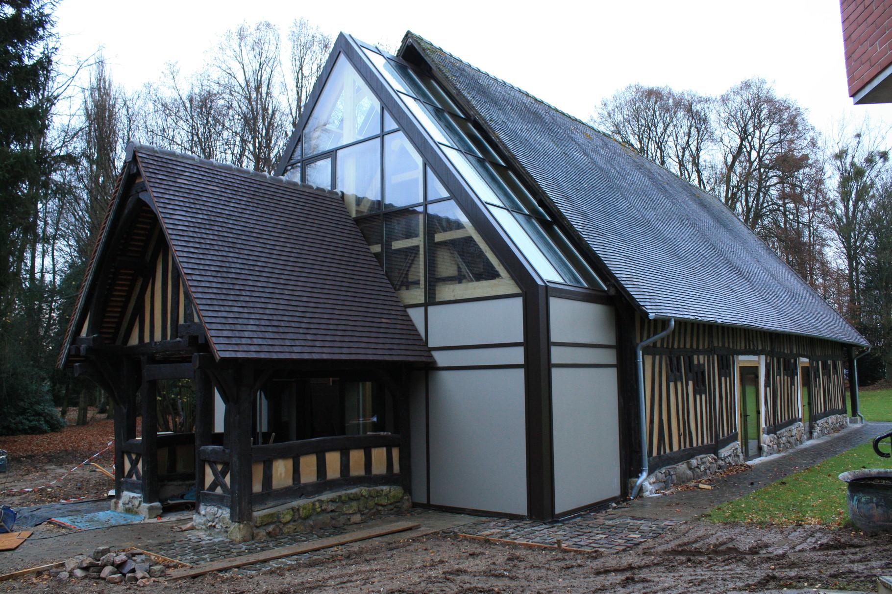 Réhabilitation et extension de La chapelle Mambré à SAINT JACQUES SUR DARNETAL (76160) - ARCHIDUAL (Roncherolles sur le Vivier)