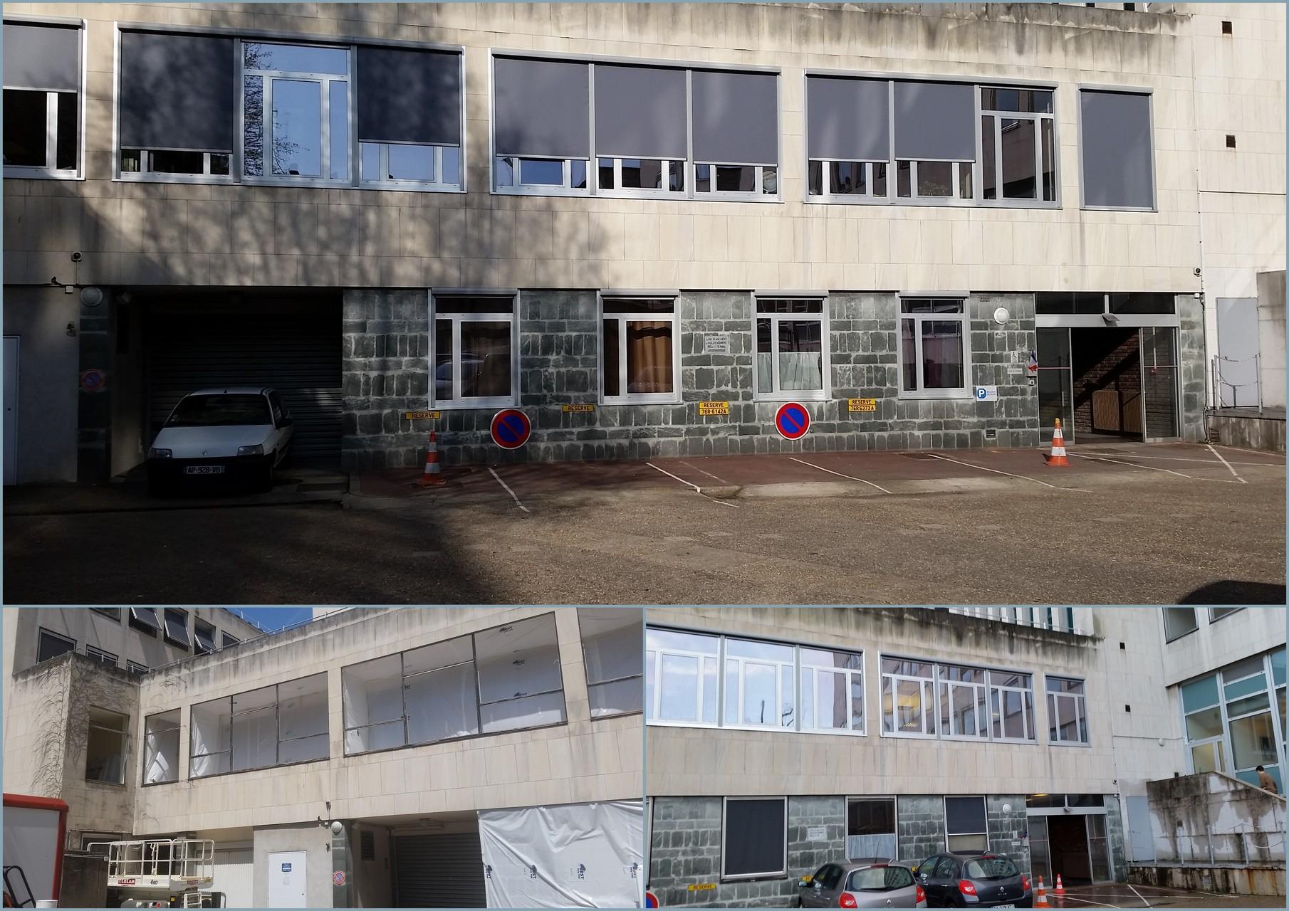 Remplacement de fenêtres dans les bâtiments de la Direction Générale des Finances Publiques - Réalisation 2015