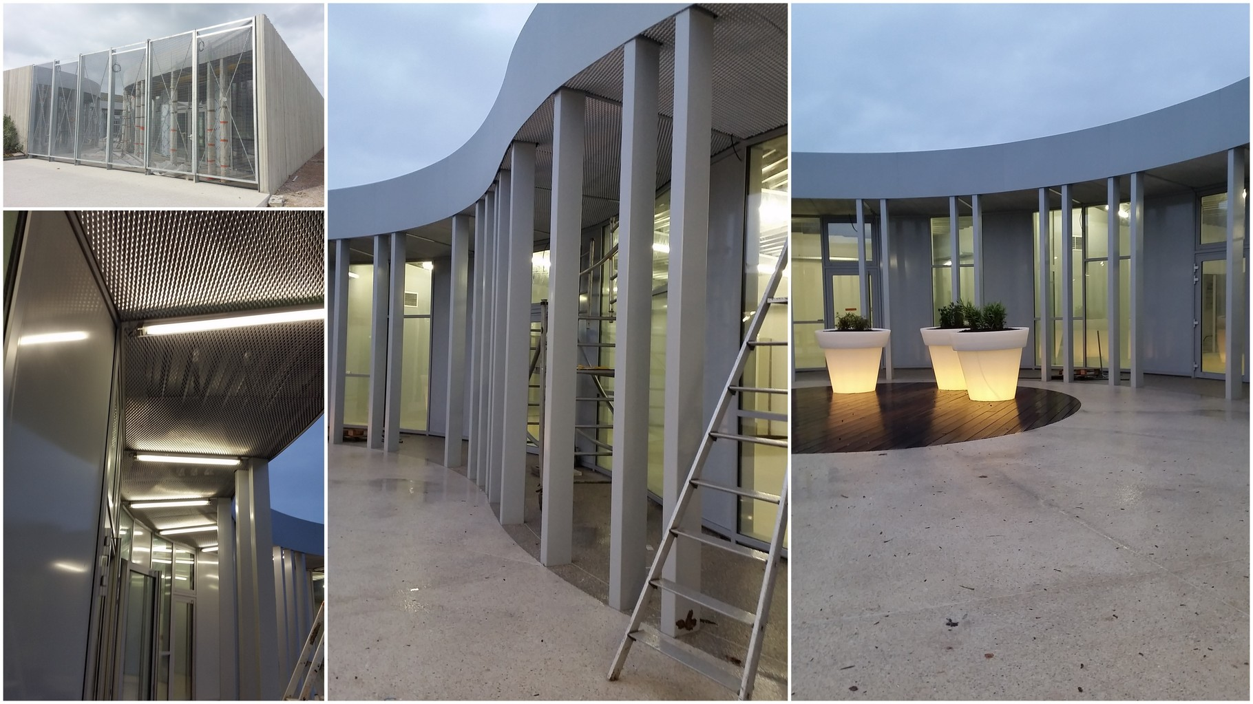 Construction d'un Pôle Social Quartier Saint Jacques à FECAMP (76400) - G2 Architectes (Fécamp) - Réalisation 2014