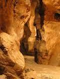 L'intérieur des grottes