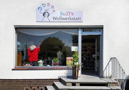 SuZi's Wollwerkstatt - Das gesellige Wollgeschäft in Lotte-Wersen nahe Osnabrück! - Außenansicht