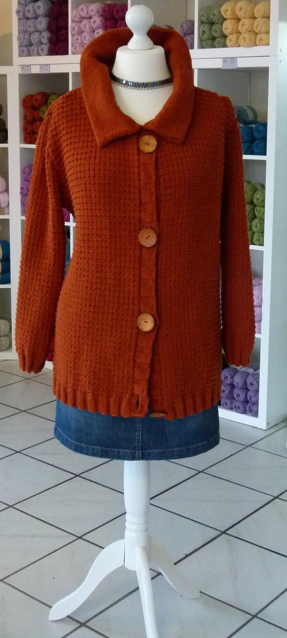 Jacke Material Cotton Merino Drops