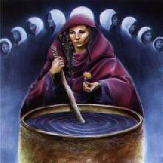 Cerridwen afbeelding uit het Godinnenorakel