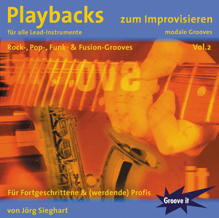 Playbacks zum Improvisieren Vol.2 - modale Grooves von Jörg Sieghart (www.tunesdayrecords.de/shop/catalog)