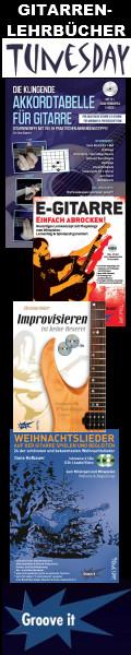 Gitarren-Lehrbücher von Tunesday Records & Publishing !