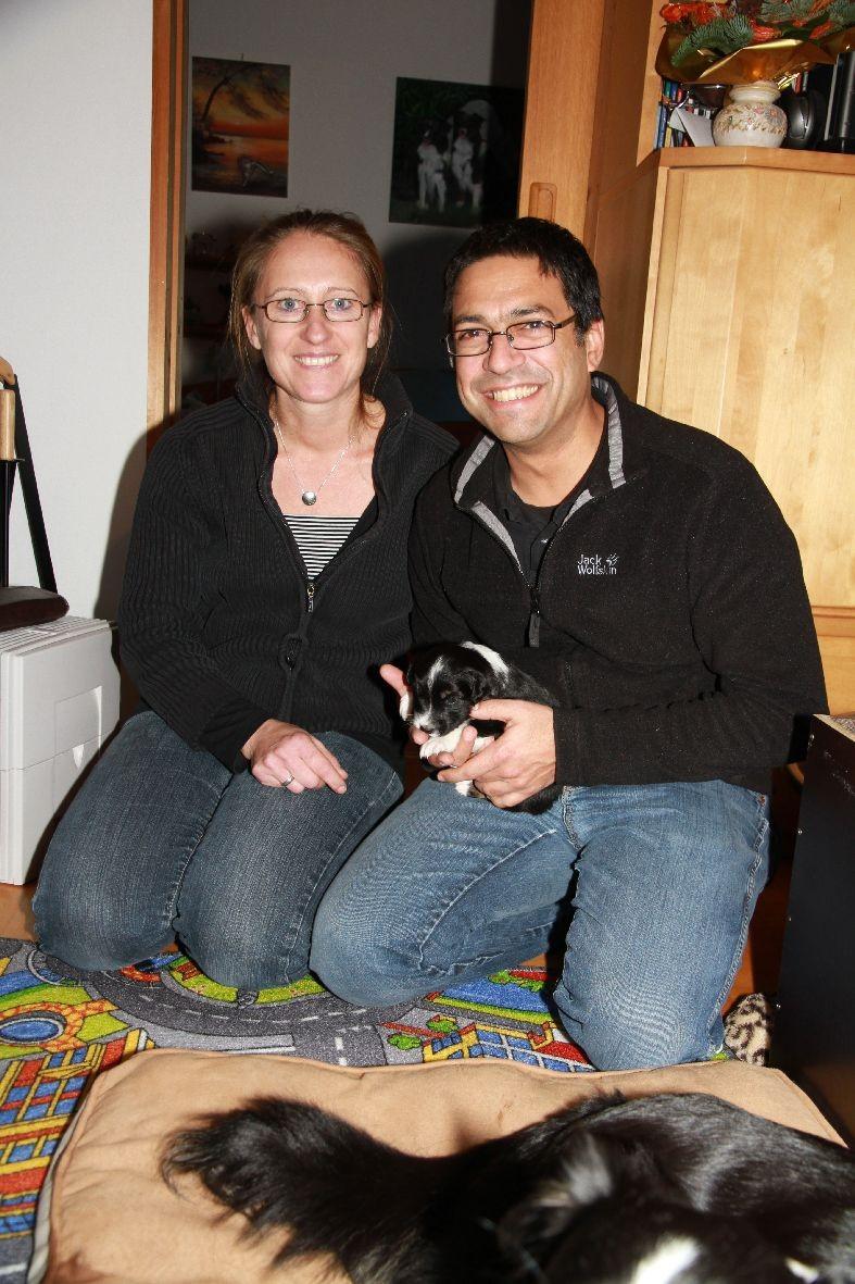 Nicole und Mohamed mit Bakana